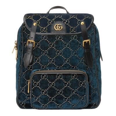 Gucci Small GG velvet backpack – Gucci purses