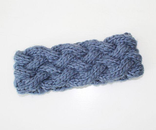 Ravelry: Braided Knit Headband pattern by Beth Attwood