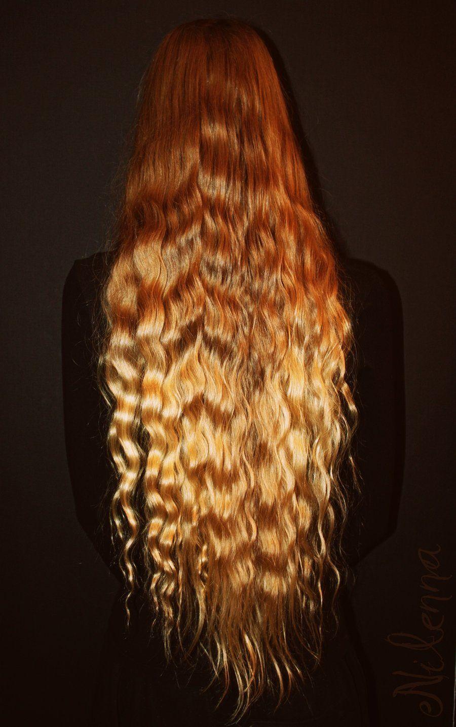 inspring | long uncut hair | long hair styles, hair, hair styles