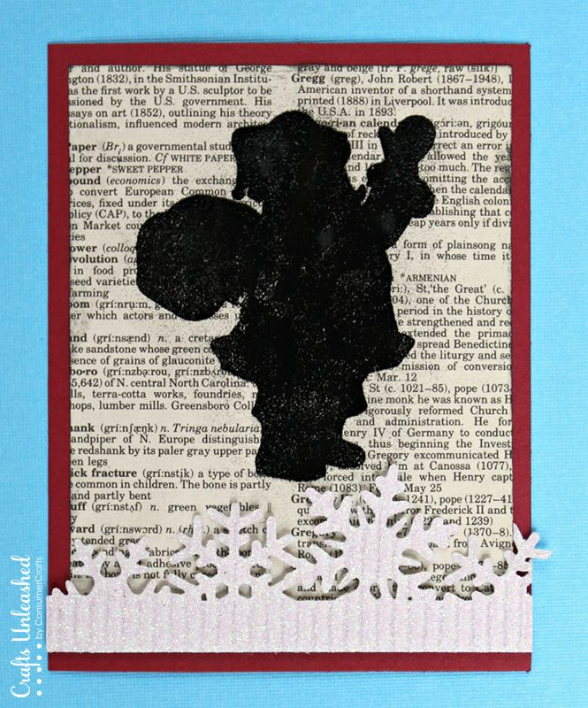 Homemade Christmas Card Ideas - Crafts Unleashed | Santa crafts ...