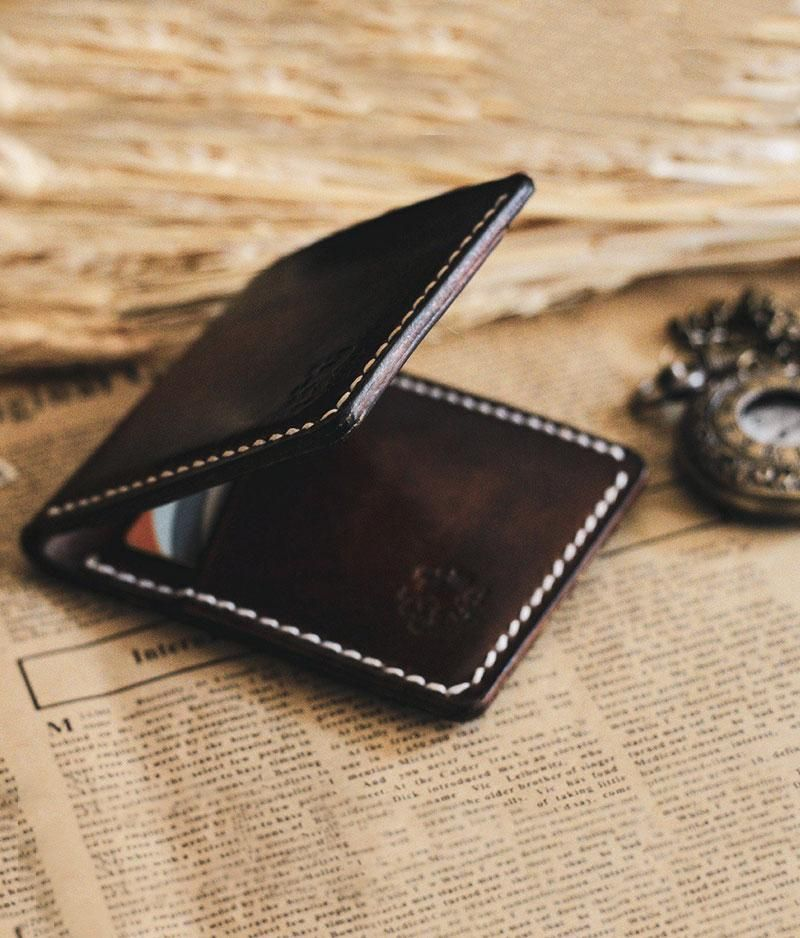Mens leather wallet, Credit card holder, Slim wallet #leatherwallets