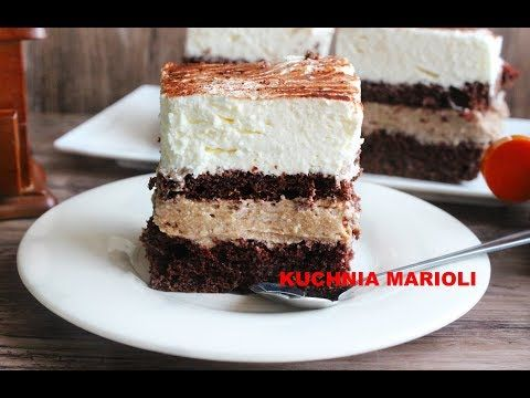 Smaczne Ciasto Cappuccino Youtube Desserts Food Cappuccino Machine