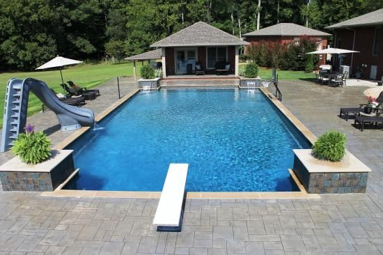 In Ground Pool Gallery Aloha Pools Spas Family Experience