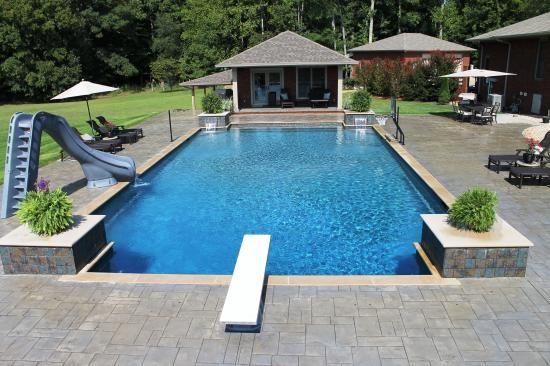 In Ground Pool Gallery Aloha Pools Spas Family Experience Longevity In 2020 Backyard Pool Landscaping Pools Backyard Inground Inground Pool Landscaping