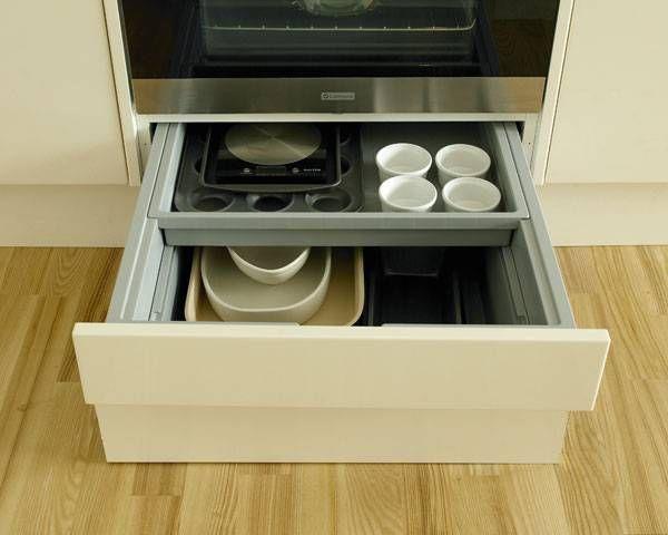 Built Under Oven Housing Storage Drawer Built Under Ovens Storage Drawers House Goodies