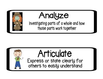 Kid friendly definition analyze