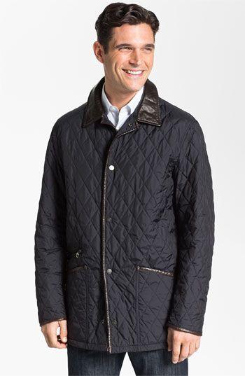 Salvatore Ferragamo Quilted Barn Coat Nordstrom Men S Coats Jackets Mens Coats Barn Coat