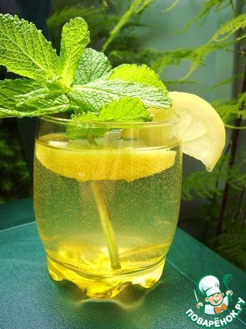 Мятный лимонад - кулинарный рецепт