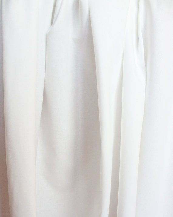 Lightweight Cotton Blend Siri Lining Fabric in by GertieInRoses, $6.50  Very soft and breathable summer lining