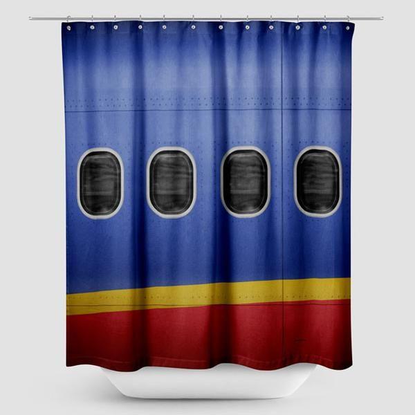 Wn Plane Shower Curtain Curtains Shower Curtain Living Room Scandinavian