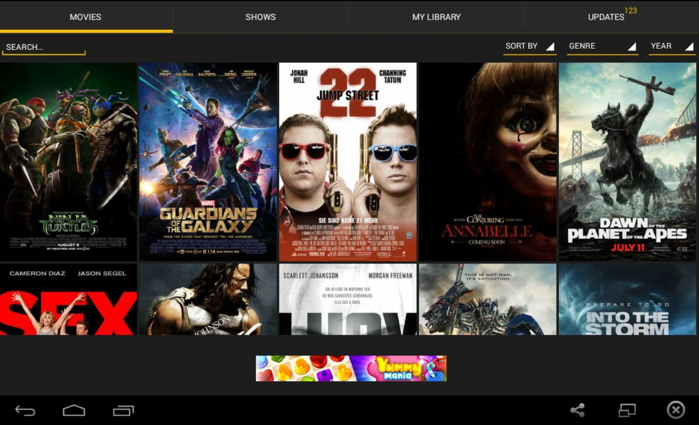 Run Show Box on your PC Showbox App Download Movies