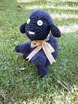 Black sheep amigurumi