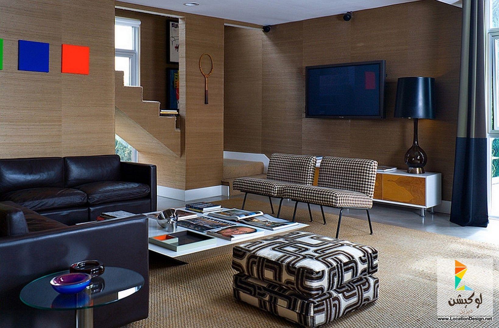 غرف معيشة بسيطة وجميلة Living Room Design Modern Interior Retro Living Rooms