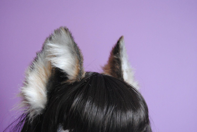 Brown Wolf Ears Wolf Ears Werewolf Ears Ear