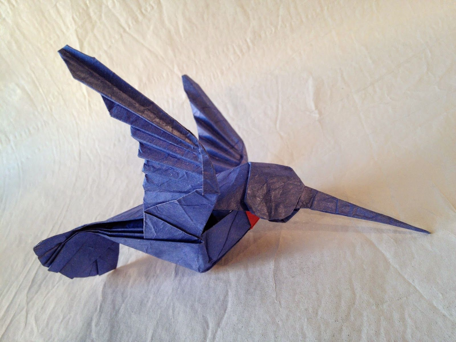 origami hummingbird ~ origami instructions art and craft ... - photo#29