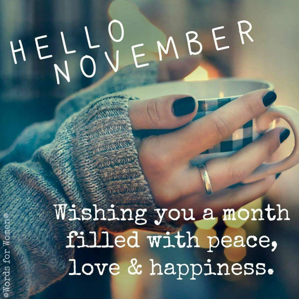 Pin by Farah Akhtar on My November Happy new month