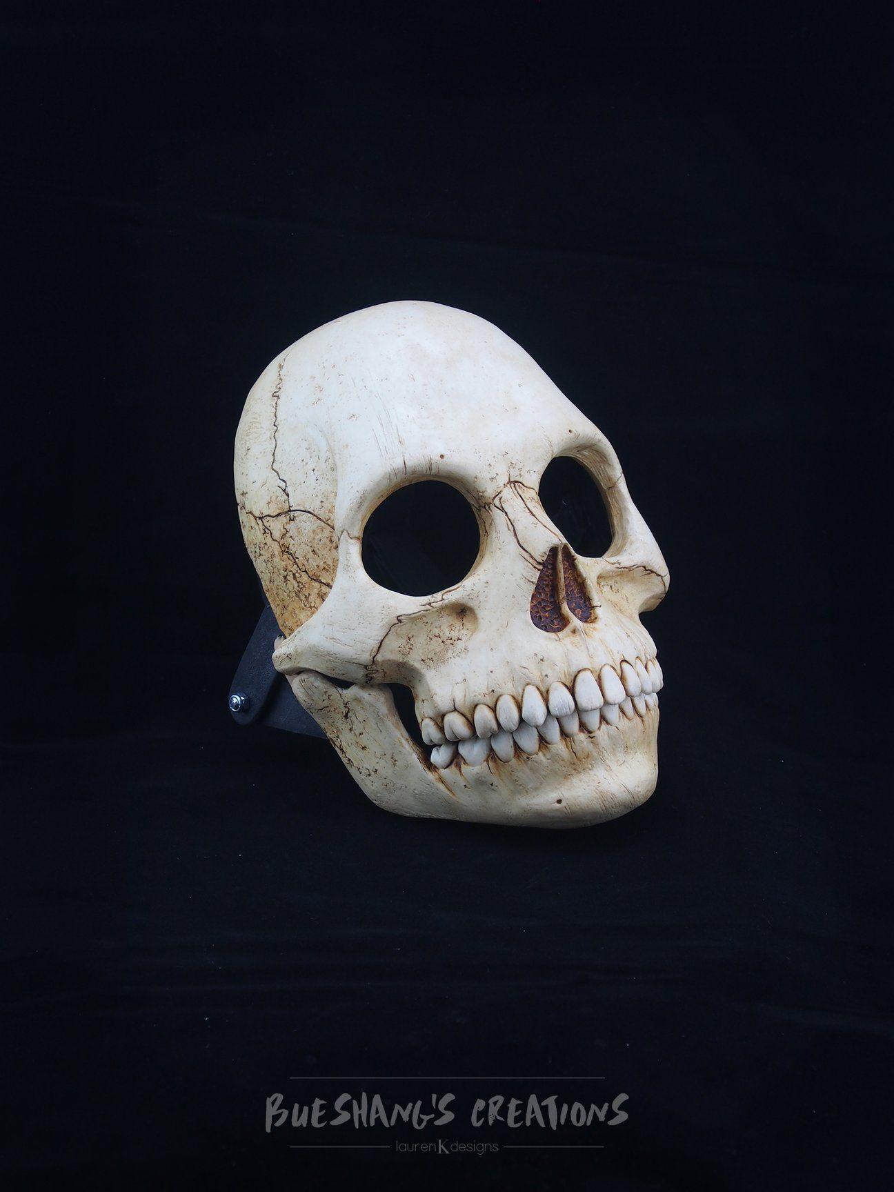 Human Skull Mask Full in 2020 Skull mask, Human skull
