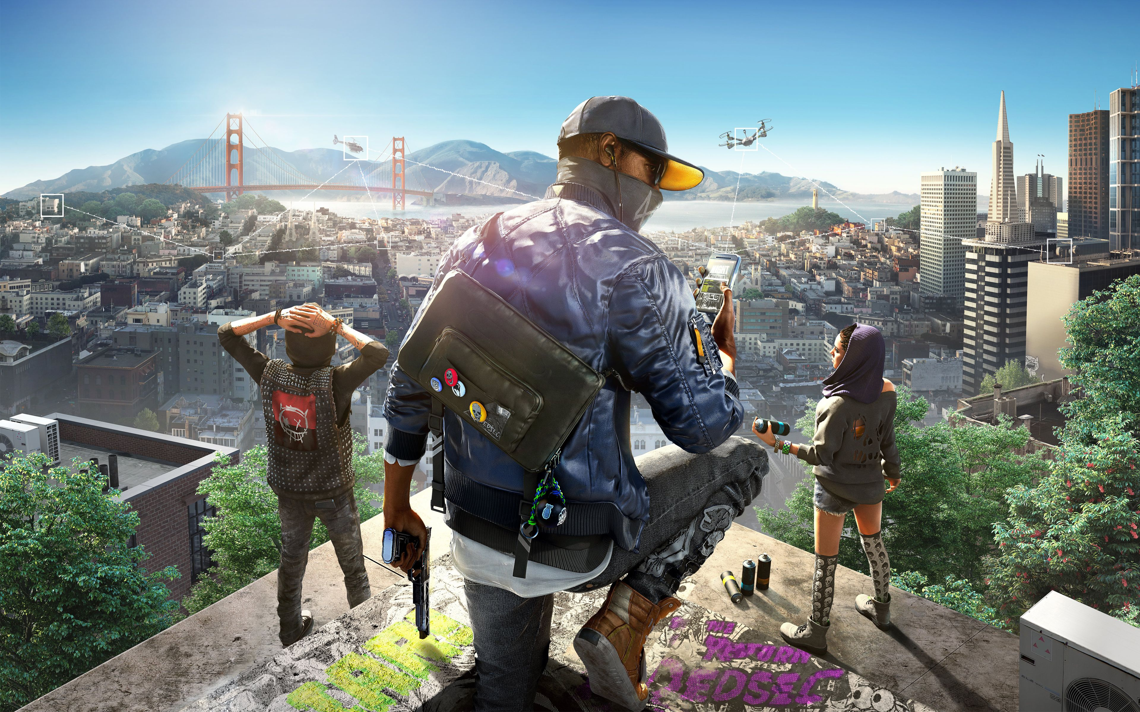 Watch Dogs 2 4k 8k Wide Jpg 3840 2400 Watch Dogs Watchdogs 2 Watch Dogs 1