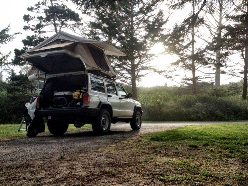 Roof Top Tent Jeep Cherokee XJ Mods Jeep cherokee