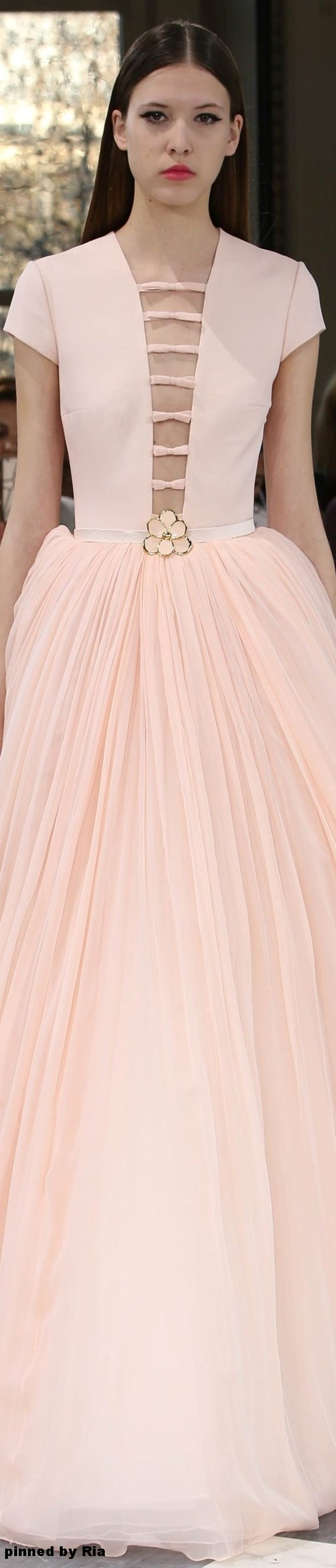 George Hobeika Spring 2016 Couture l Ria | HAUTE COUTURE | Pinterest