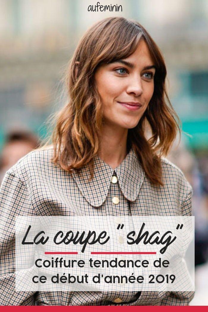 La coupe shag, la coiffure tendance de ce début dannée 2019
