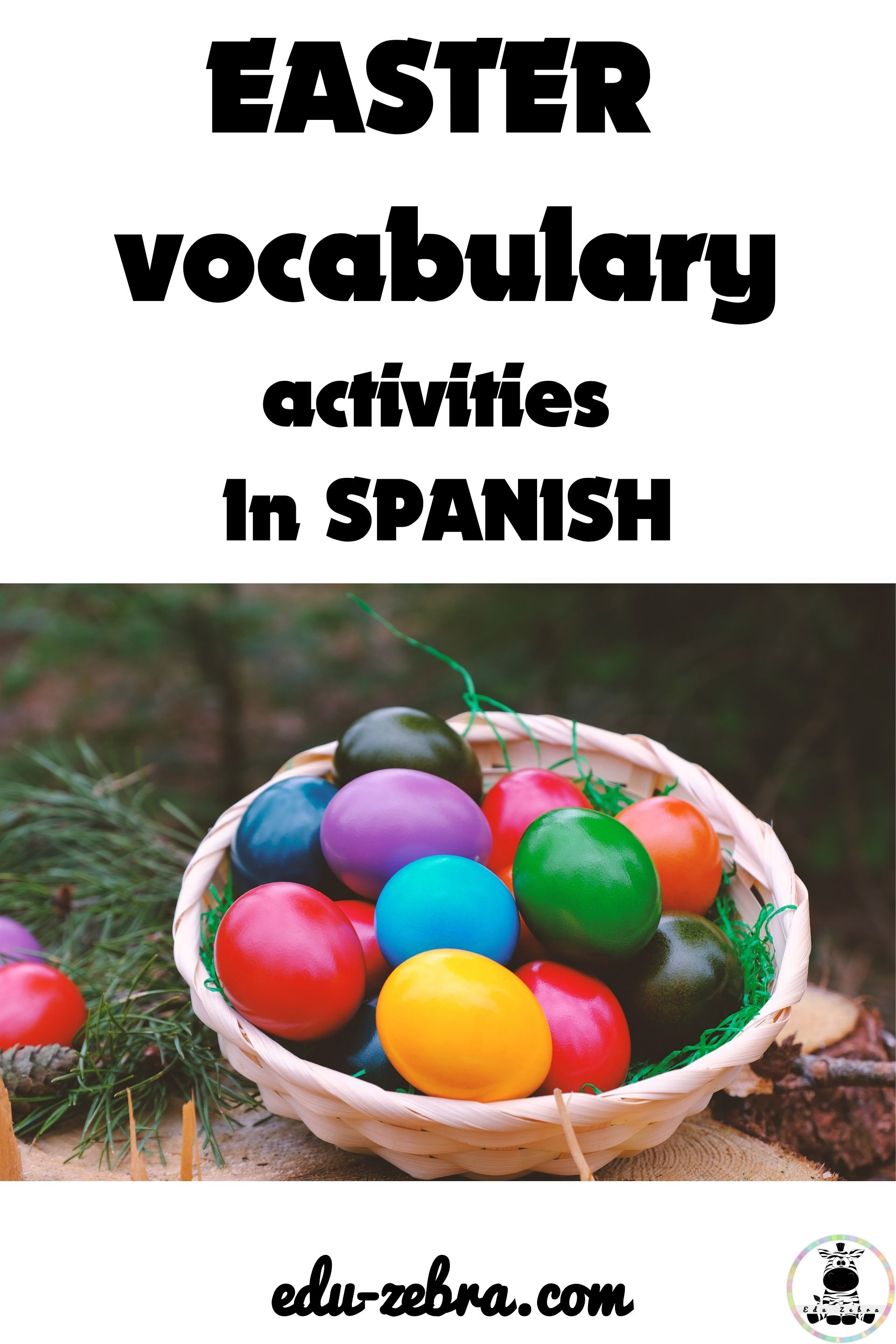 Easter Vocabulary In Spanish
