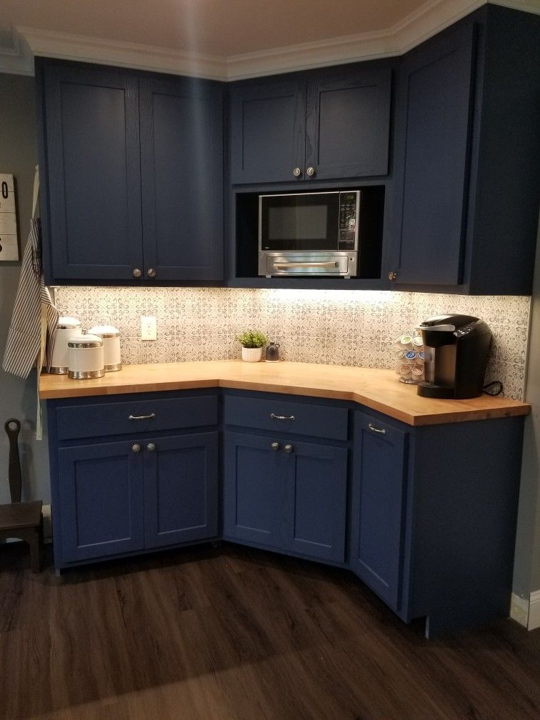 Blue Kitchen Cabinets Custom Kitchen Cabinets Kitchen Cabinets Kitchen Remodel