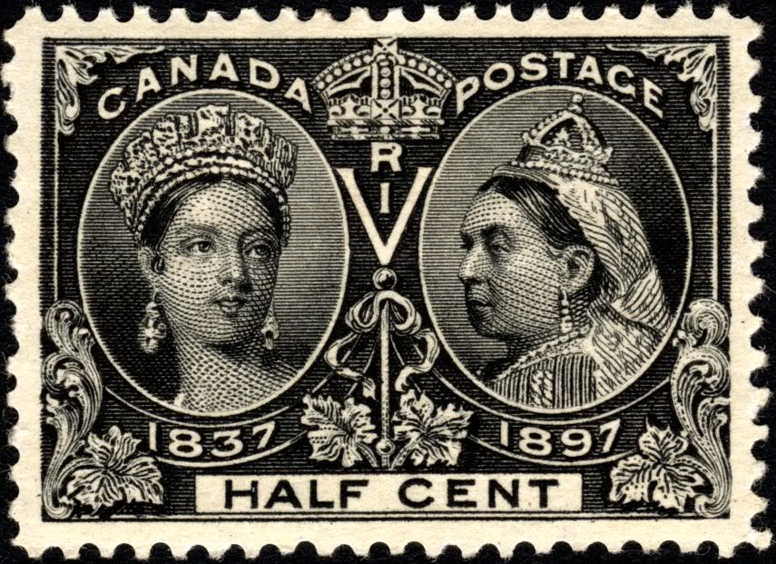 Canada 1897 Half Cent