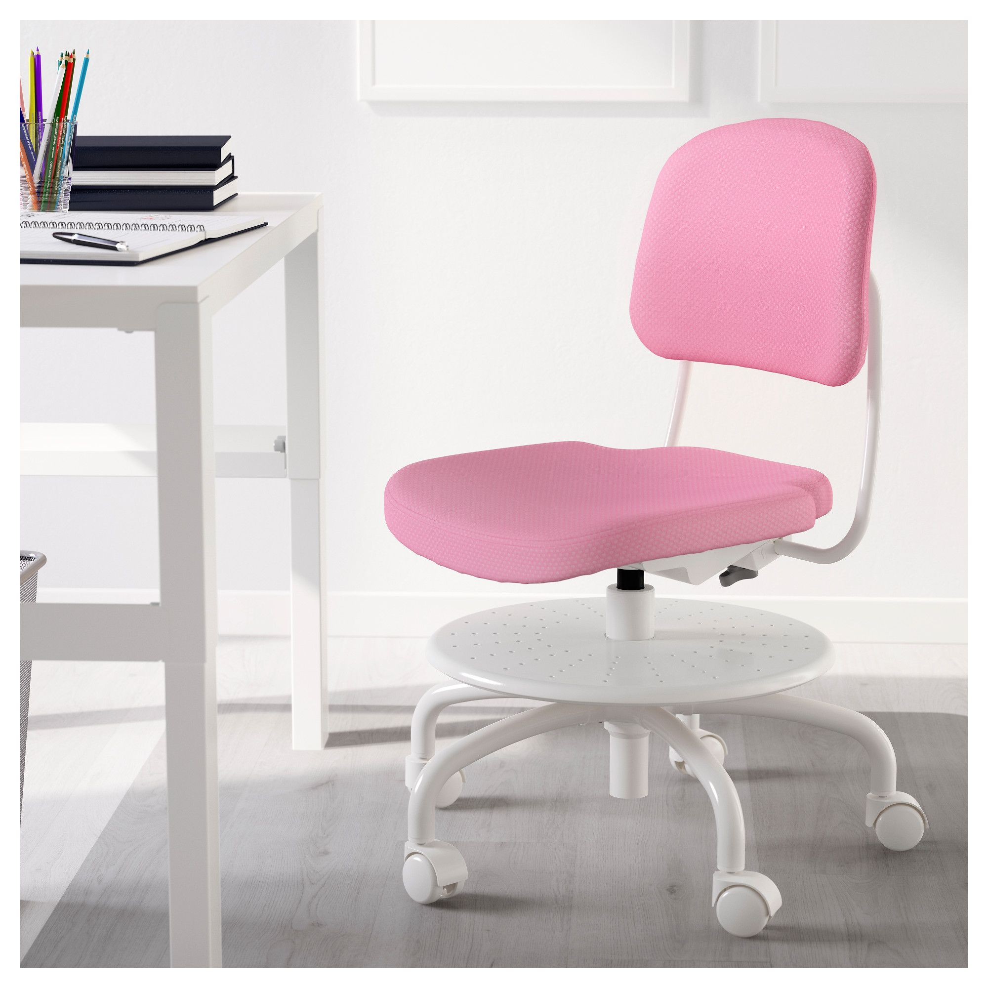 Pink Office Chairs Ikea Vimund Child S Desk Chair Pink Pink Office Ergonomic