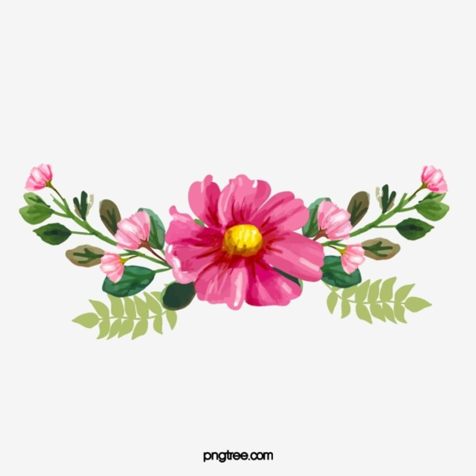 Chinese Red Flowers Vector China Element Flowers Png Transparent Clipart Image And Psd File For Free Download Watercolor Flower Vector Flower Painting Watercolor Flower Background