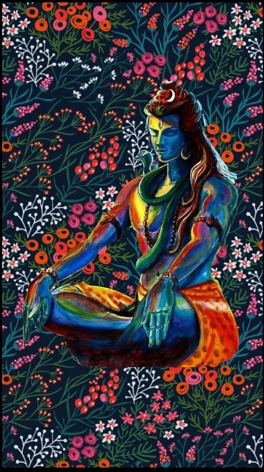 Pin By Khiladio Ka Badshah On Lord Shiva Lord Shiva Painting