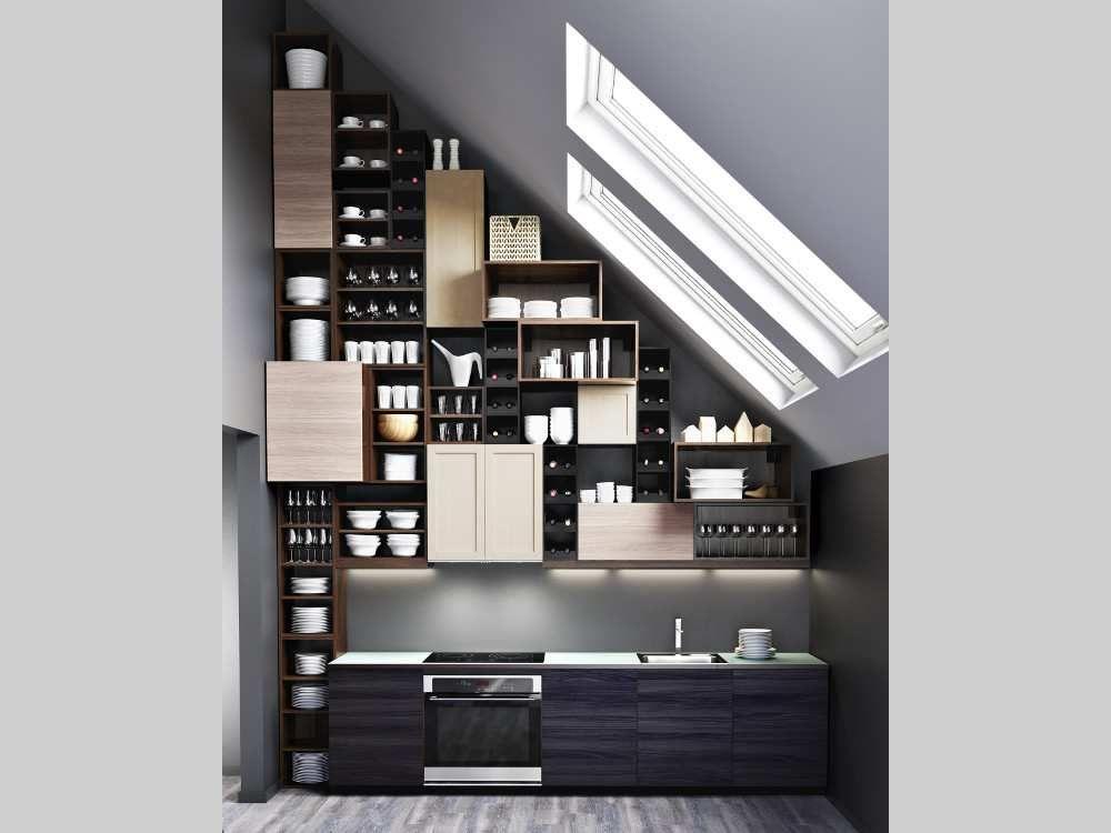 IKEA\u0027s new SEKTION kitchen system can be totally customized - küchen hängeschränke ikea