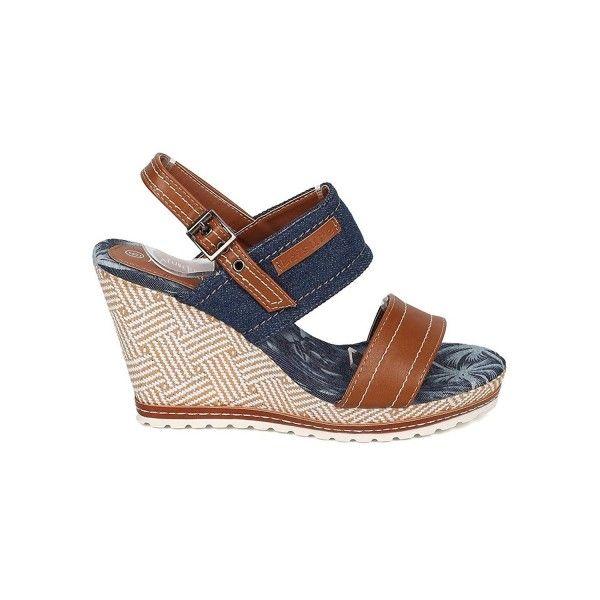 77b7d8f651f4f2 Women Platform Wedge Sandal - Slingback Sandal - Basketweave Wedge ...