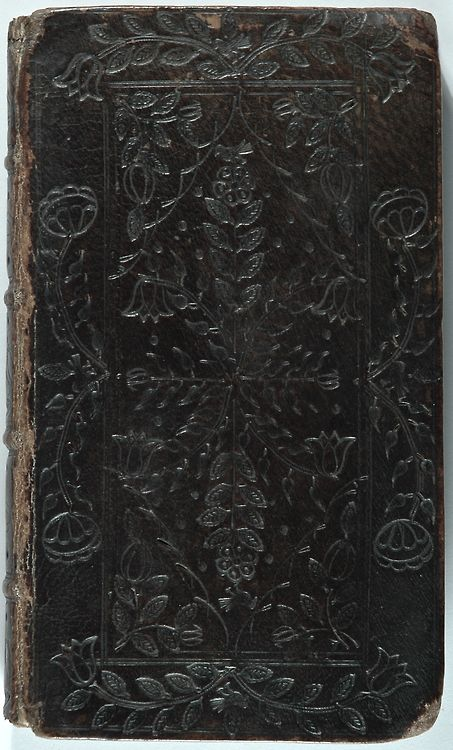 Old tooled leather cover of journal or book..make a new journal from an old one <3