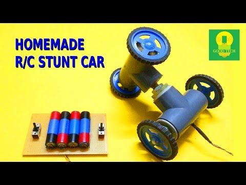 How to make a easy remote control car at home