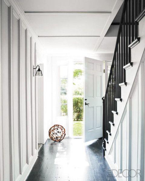 Great hallway ...James Huniford