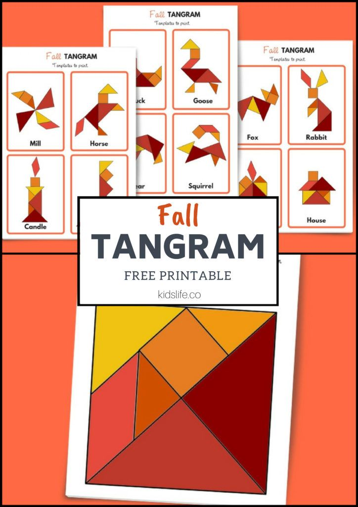 fall tangram  12 free downloadable patterns with images