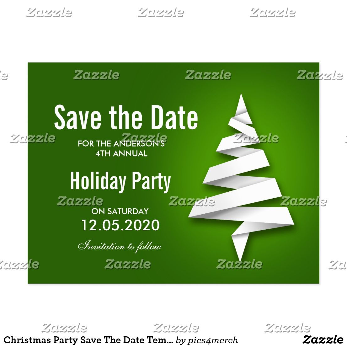christmas party save the date template happy holidays