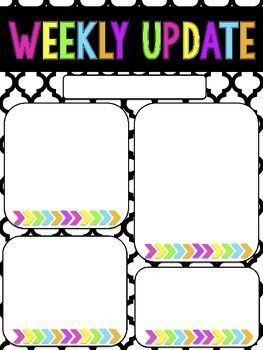 Nice Weekly Newsletter Template