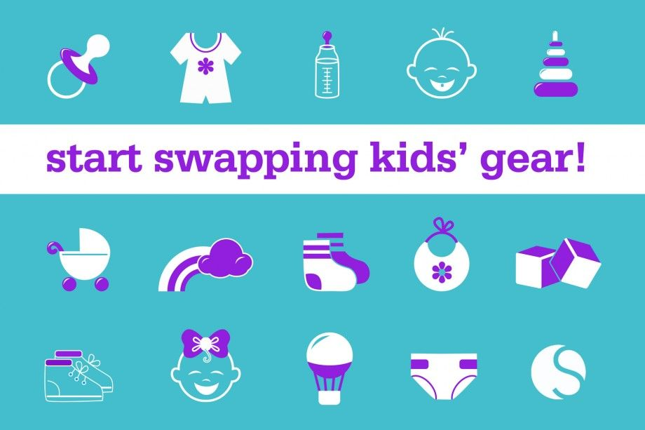 At Last, Swapping for Kids' Clothes and Gear Is Here! Put on your party pants, people: we've a big cause for celebration: swapping for kids' clothes and gear has been officially unleashed on Swapdom.com!