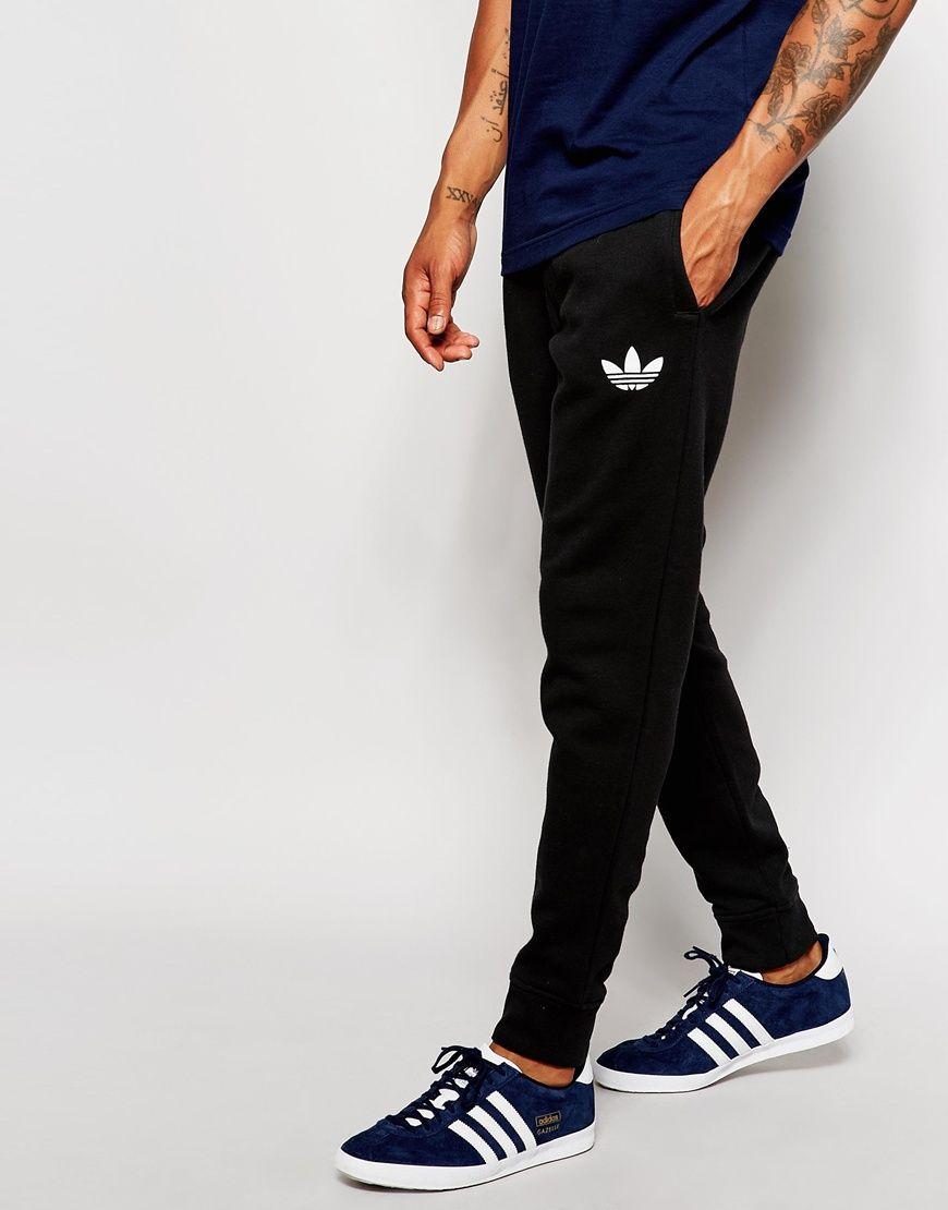 80c1f529e24ba3 adidas+Originals+Skinny+Joggers+AB7512 | boyfriend | Adidas joggers ...