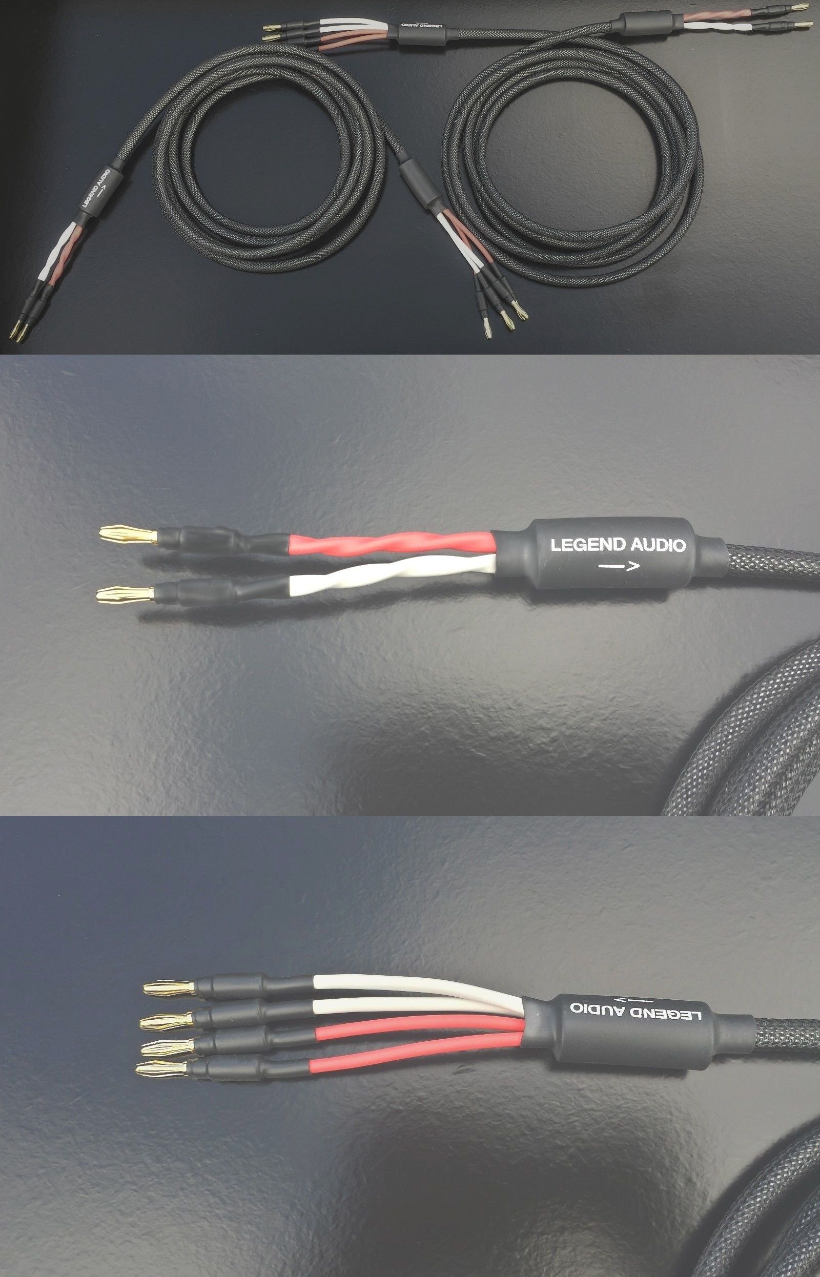 Audio Cables and Interconnects: Legend Audio 25Ft. Bi-Wire Speaker ...