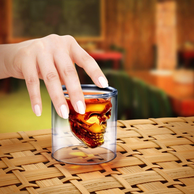 Crystal Skull Shot Glass Coole geschenke für männer