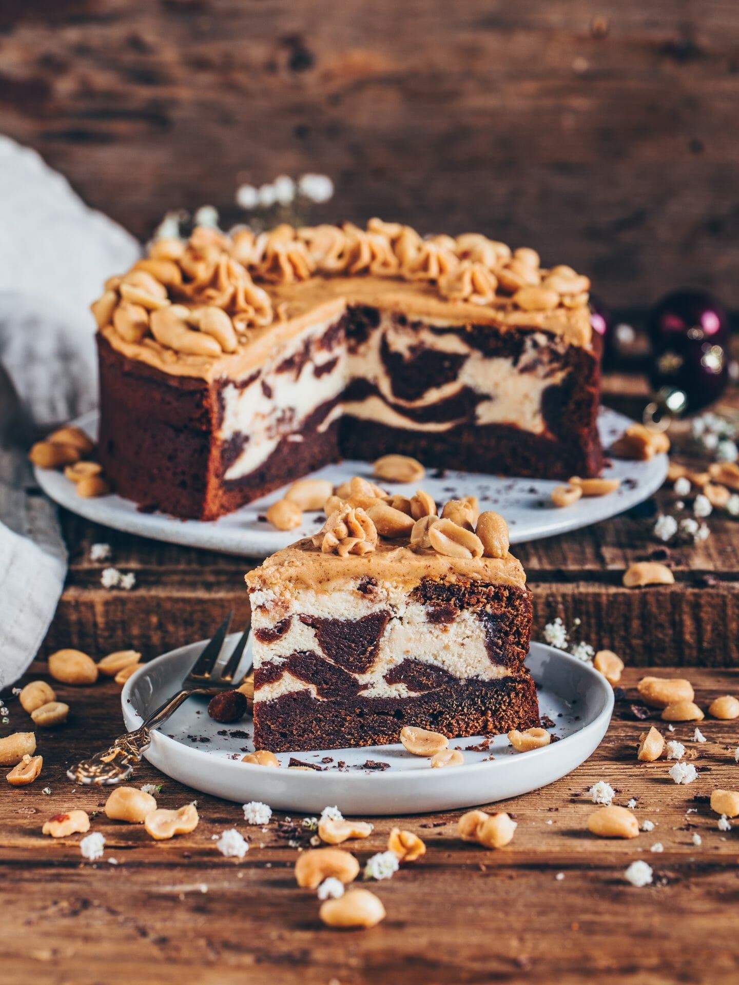 Brownie Cheesecake Easy Vegan Rezept In 2020 Mit Bildern