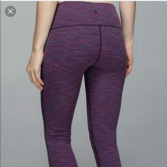 LULULEMON cropped wunder under Cropped wunder under worn twice, no tag lululemon athletica Pants Ankle & Cropped