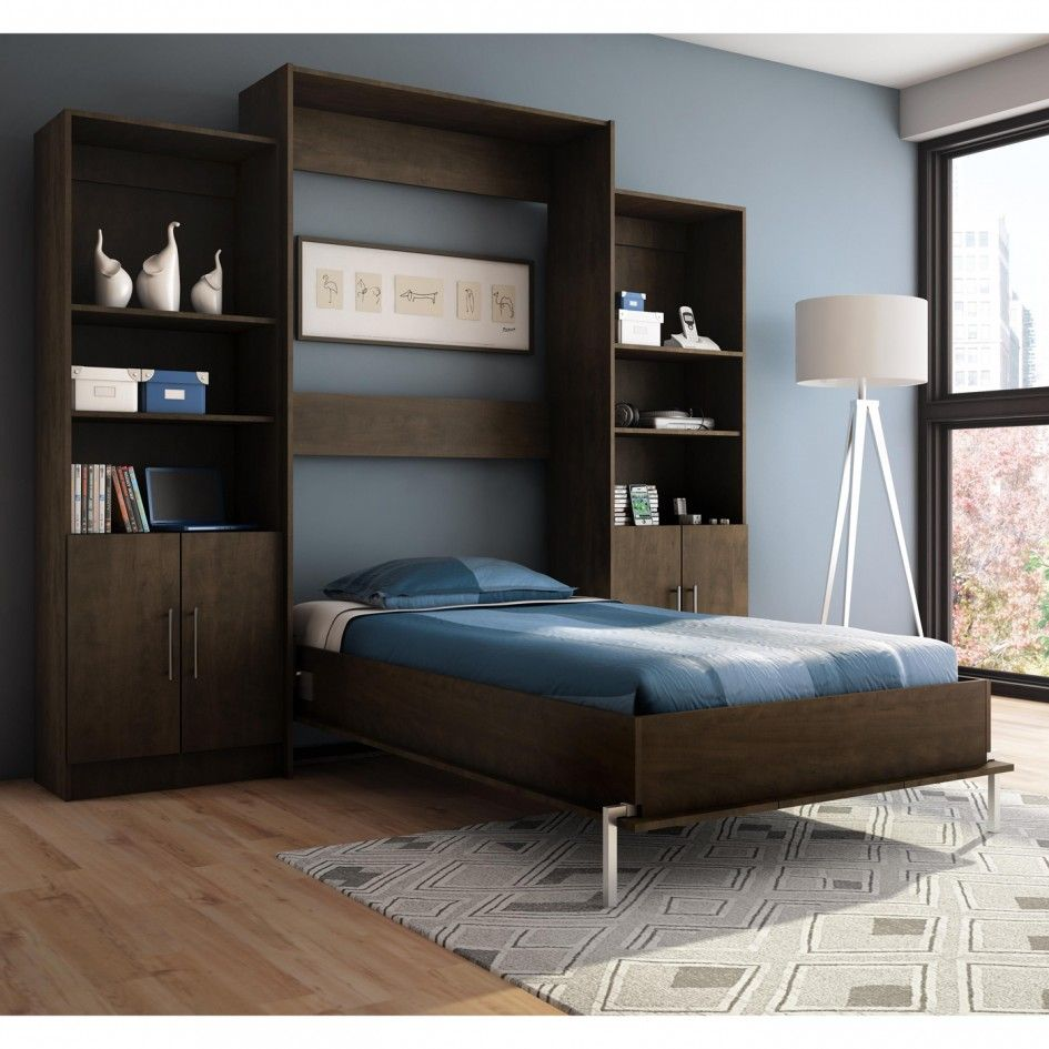 Bedding, Innovative And Affordable Milo Twin Wall Bed Open