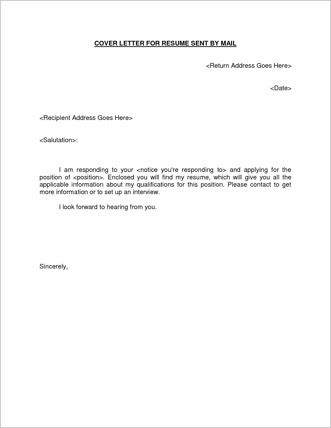 Sample Email Cover Letter For Resume 25 Email Cover Letter Sample Email Cover Letter Sample Email