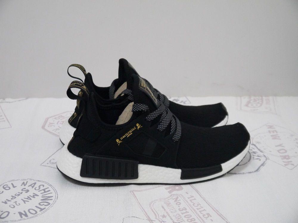 Gold Adidas UK Store Adidas NMD XR1 Mastermind Japan Black