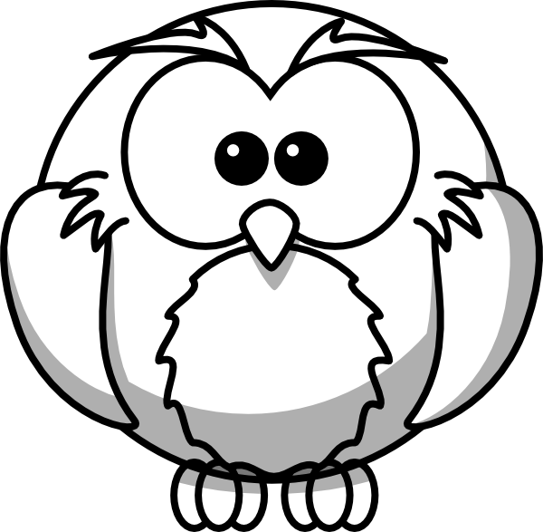 DRAWINGS OF OWLS Owl Outline clip art vector clip art online