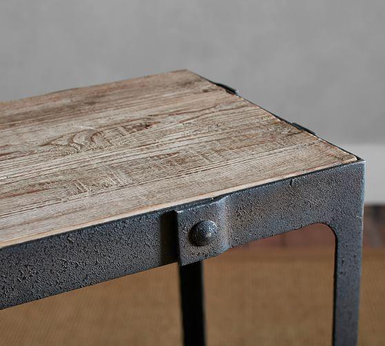 Clint Reclaimed Wood Coffee Table Pinterest Reclaimed Wood - Pottery barn clint coffee table